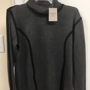 Dark gray  Carmen Marc Valvo sweater